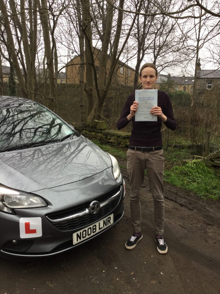 Driving lessons Huddersfield